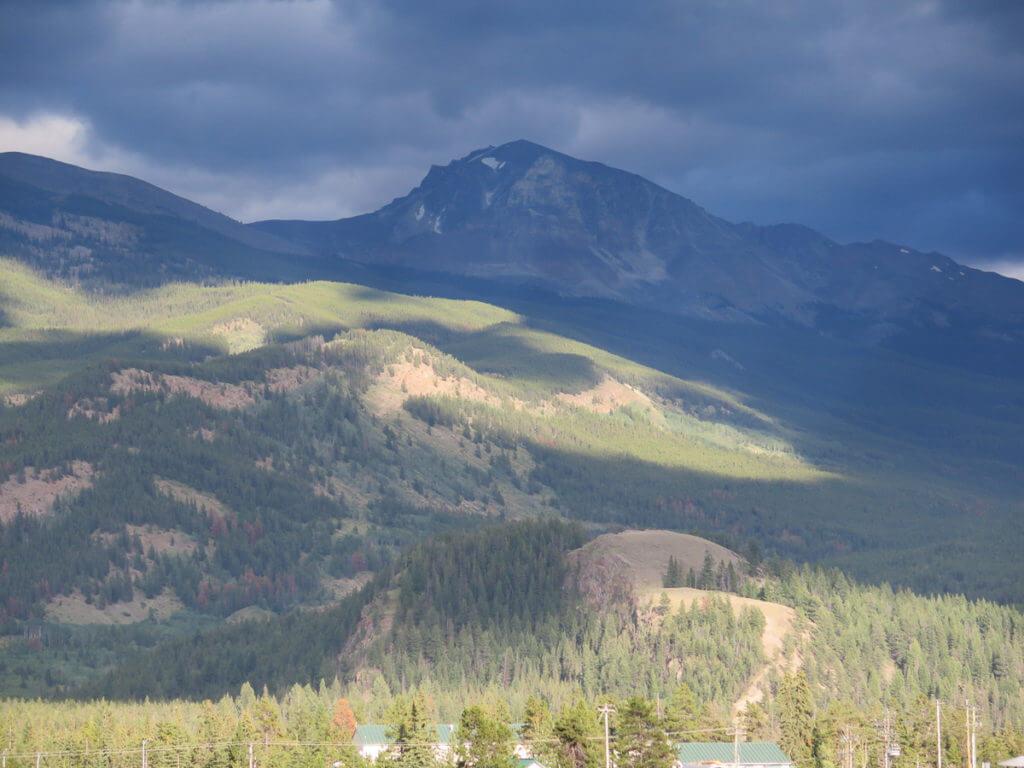 Banff Gewitterwolken