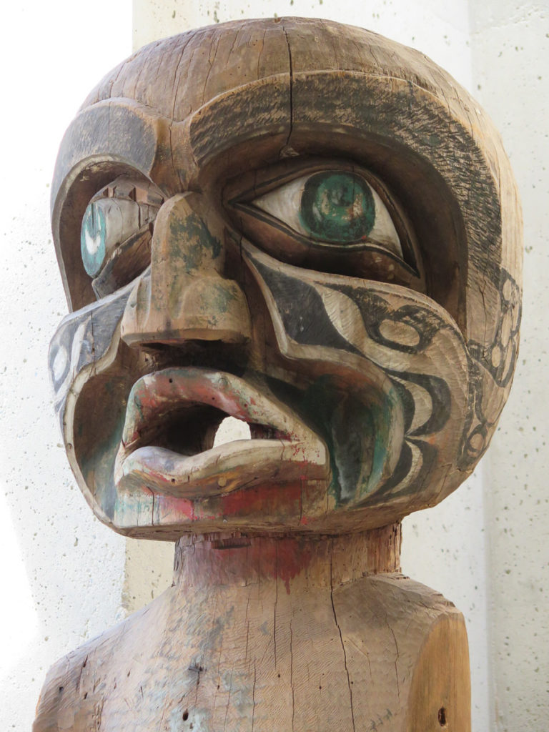 Museum of Anthropology Vancouver Exponat